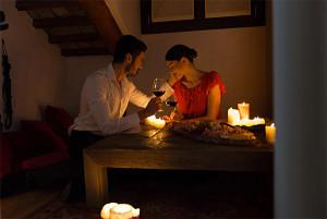 Romantische Eskapade in der Nähe von Venedig
